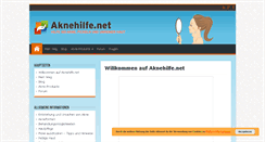 Preview of aknehilfe.net