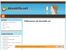 Tablet Preview of aknehilfe.net